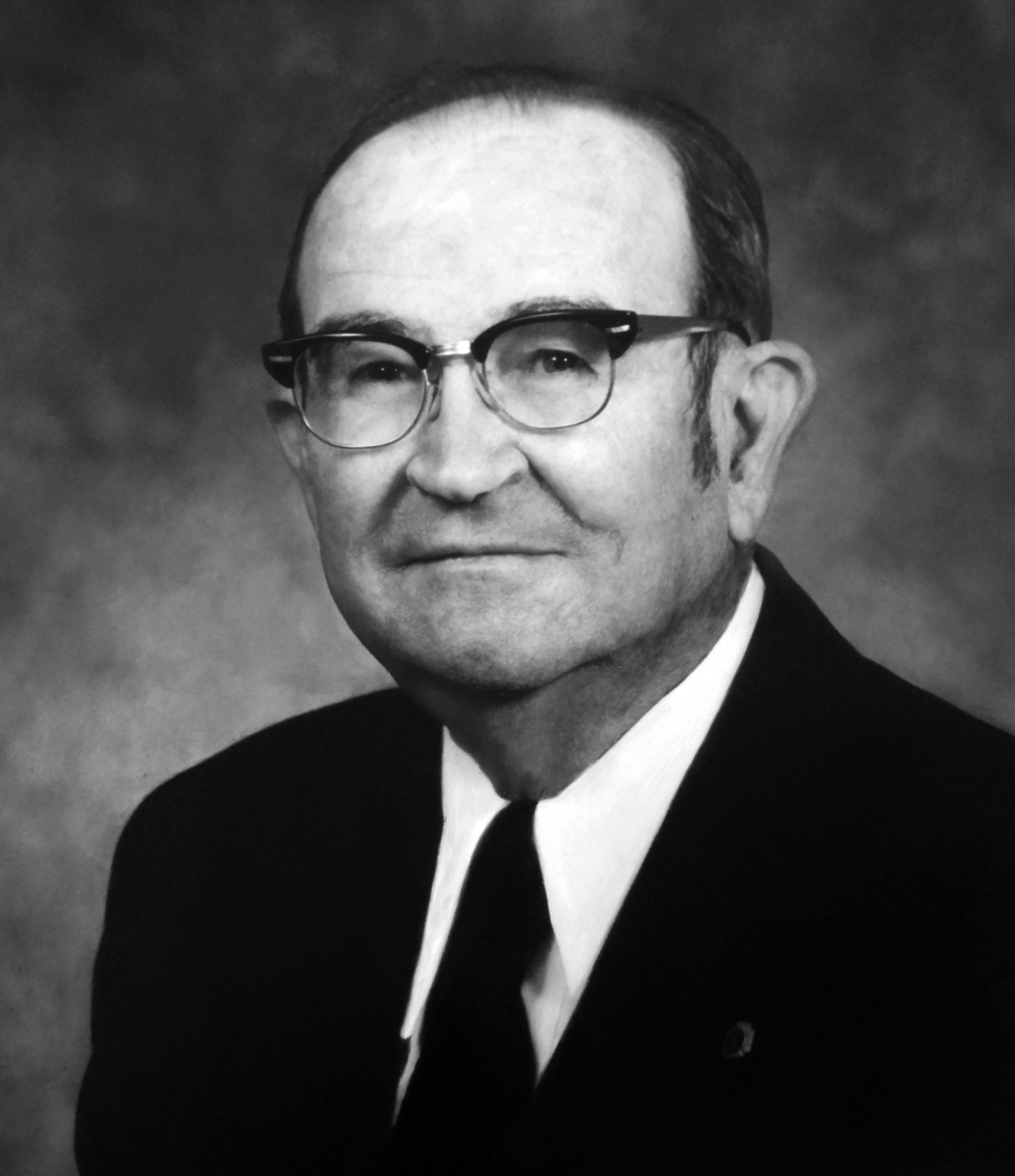 Roy T. Hoke, Sr., early major gift donor to the Foundation