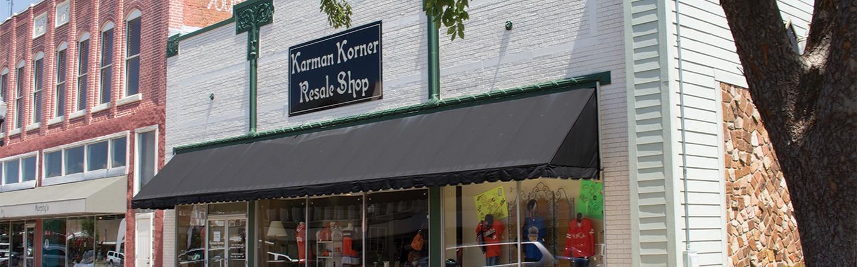 Karman Korner Store Front